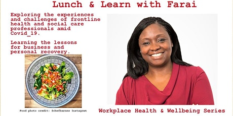 Lunch & Learn:experiences & challenges of frontline professionals, Covid-19 tickets