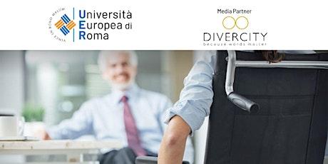 Modulo A - RIVOLUZIONE INCLUSIVA: impatto del Covid-19 sulle Diversità biglietti