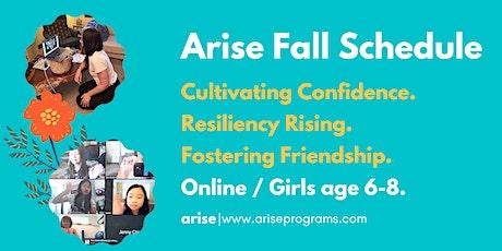 Arise Online | Girls age 6-8 tickets