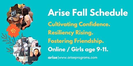 Arise Online | Girls age 9-11 tickets