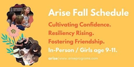 Arise In-Person | Girls age 9-11 tickets