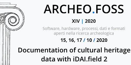 Documentation of cultural heritage data with iDAI.field 2 tickets
