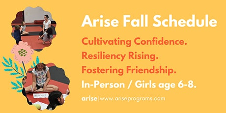 Arise In-Person | Girls age 6-8 tickets
