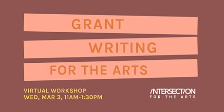 Grant Writing for the Arts Workshop tickets