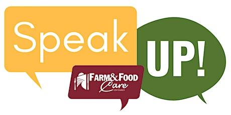 Speak Up Training- November 25