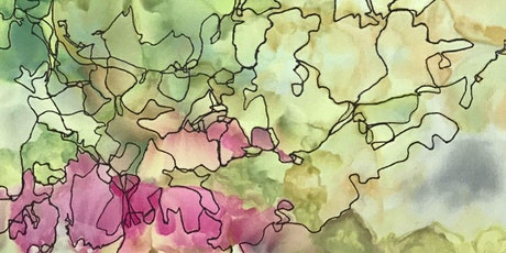 Responsive Doodling on Dyed Fabric (virtual) tickets