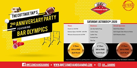 2-Year Anniversary Bar Olympics at The Cottage Tap tickets