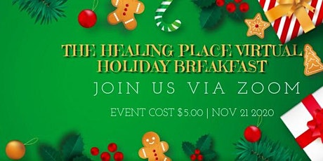 The Healing Place Virtual Holiday Breakfast tickets