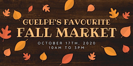 Guelph's Favourite Fall Market 2020 tickets