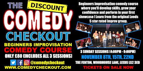 DCC - Beginners Improvisation Comedy Course - November - Leeds (3 Sundays) tickets