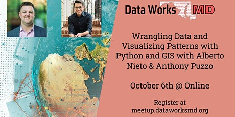 Online: Wrangling Data and Visualizing Patterns with Python and GIS tickets