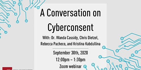 A conversation on Cyberconsent tickets