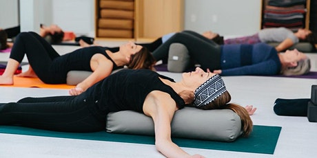 Restorative Yoga & Sound Healing for Stress Relief – September 20th tickets