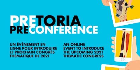 Pretoria Pre-Conference tickets