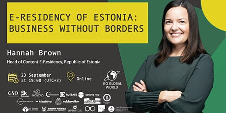 E-RESIDENCY OF ESTONIA: BUSINESS WITHOUT BORDERS tickets