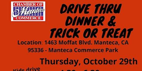 Drive Thru Dinner & Trick or Treat tickets