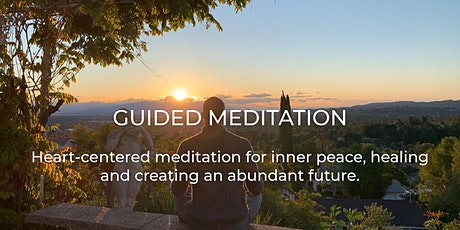Heart Centered Guided Meditation via Zoom tickets