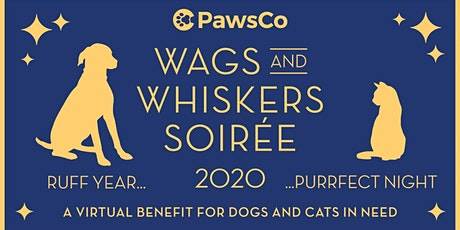PawsCo Wags & Whiskers Soirée tickets