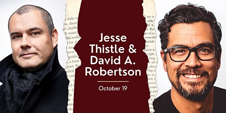 Jesse Thistle and David A. Robertson In Conversation with Shelagh Rogers tickets