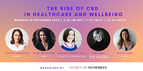 WEBINAR - The Rise of CBD in Healthcare and Wellbeing tickets