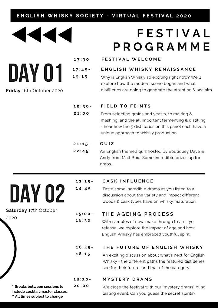 English Whisky Society - Virtual Festival 2020 image