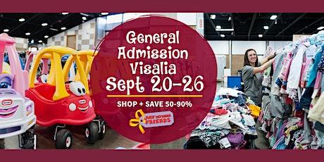 JBF Visalia Public Sale: Sept 20-26 (FREE) tickets
