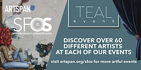 ArtSpan Presents SF (Open) Studios:Teal Event tickets