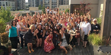 """Women of Electric Vehicles, DC Chapter: Virtual """"Charge Up"""" Happy Hour biglietti"""