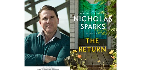 Nicholas Sparks In-Person Socially Distanced Meet-and-Greet tickets