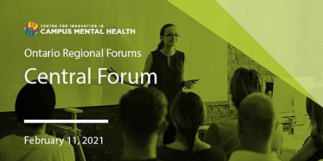CICMH Central (GTA) Region Virtual Forum tickets