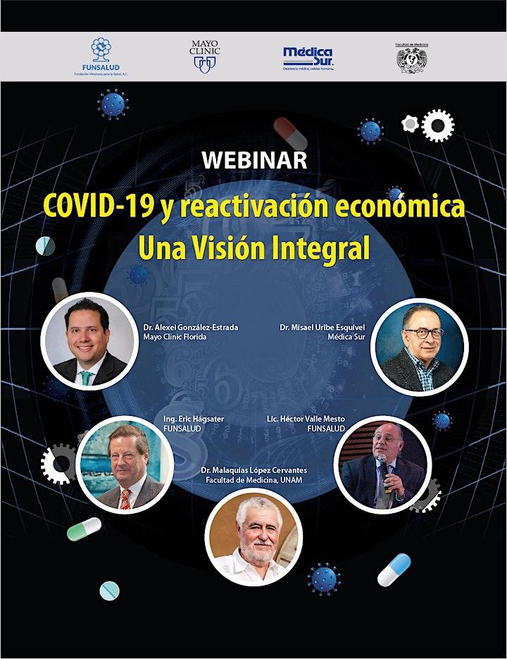 Imagen de Webinar  COVID-19 y reactivación económica: Una visión global
