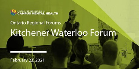 CICMH Kitchener-Waterloo Region Virtual Forum tickets