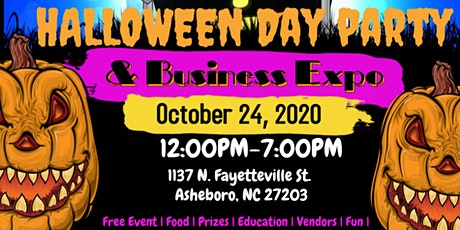 Halloween Day Party & Business Expo tickets