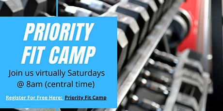 Priority Fit Camp Live!! entradas