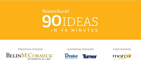 90 Ideas in 90 minutes tickets