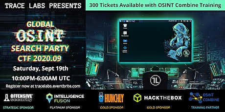 Trace Labs Global OSINT Search Party CTF 2020.09 tickets
