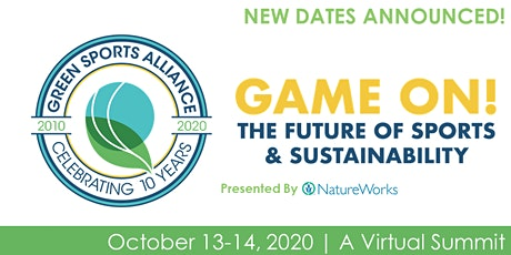 2020 Green Sports Alliance Virtual Summit tickets