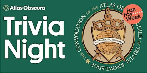Atlas Obscura Trivia Night