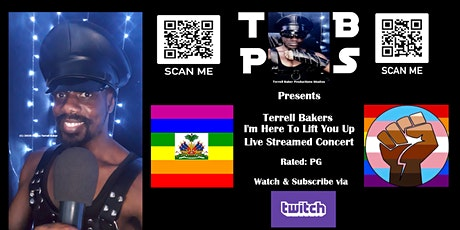 Terrell Bakers   I'm Here To Lift You Up   Live Streamed Concert tickets