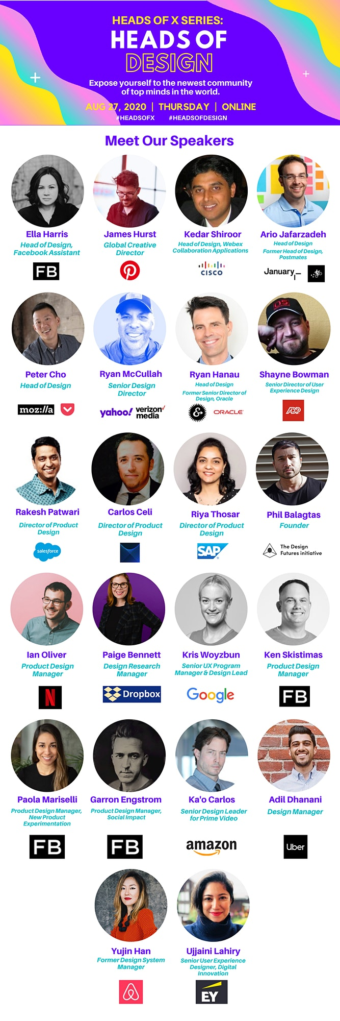 Heads Of X Series: Heads of Design Conference image