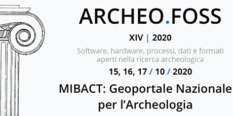 MIBACT: Geoportale Nazionale per l'Archeologia biglietti