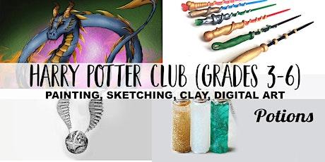 Harry Potter Virtual Art Club | 4 Weeks October | Grades 3-6 tickets