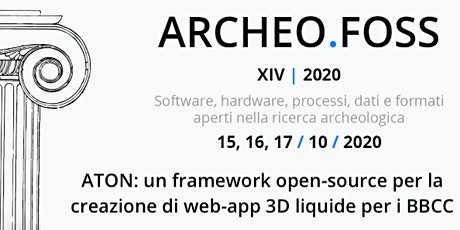 ATON: an open-source framwork for creating liquid 3D web-app  for  CH tickets