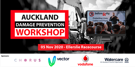 Auckland Damage Prevention Workshop 2020 | Free tickets available tickets