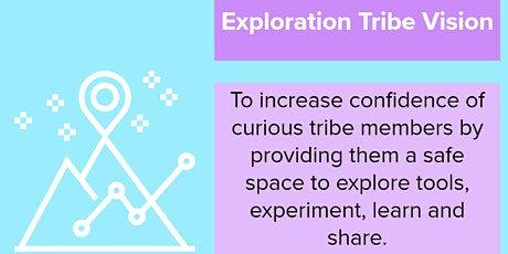 Exploration Tribe - Learning intensive Welcome Workshop tickets