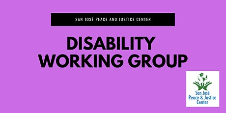 Disability Working Group tickets