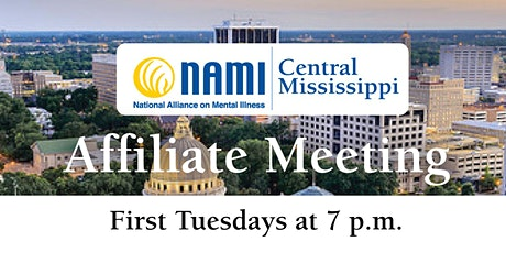 NAMI Central Mississippi Affiliate Meeting (Virtual) tickets