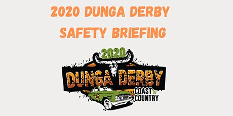 2020 COAST TO COUNTRY DUNGA DERBY FRASER COAST SAFETY AND INFORMATION BRIEF tickets