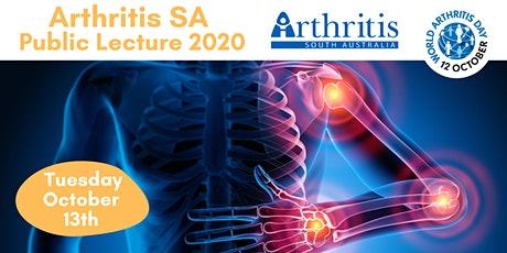 Arthritis SA Public Lecture 2020 tickets