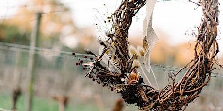 Peninsula Wildflower – Christmas Wreath Vine Weaving Workshop tickets